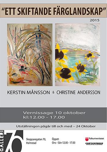 Kerstin Månsson och Christine Andersson