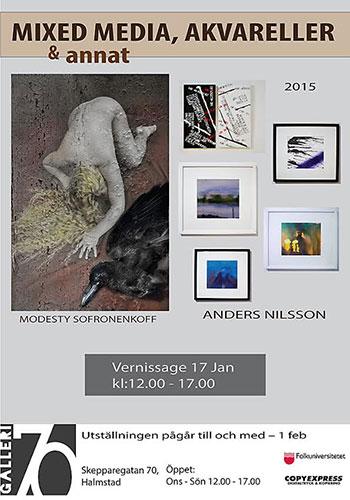 Anders Nilsson & Modesty Sofronenkoff