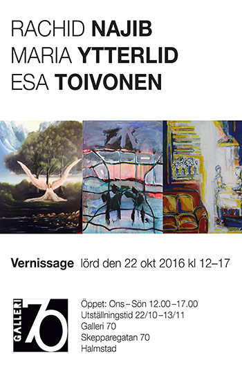Esa Sven-Olof Toivonen, Maria Ytterlid och Rachid Najib