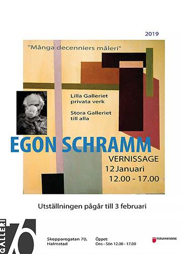 Egon Schramm minnesutställning