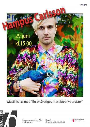 Musikkalas Hampus Carlsson