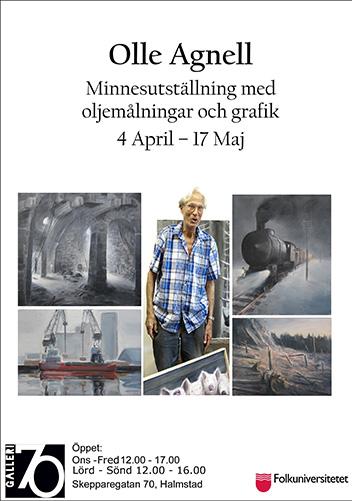 Minnesutställning Olle Agnell